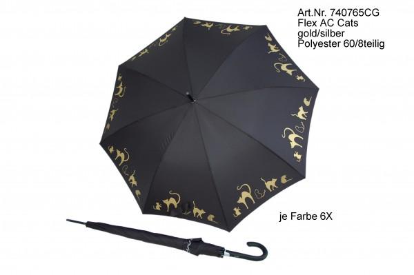 doppler Regenschirm Flex Automatik - Cats